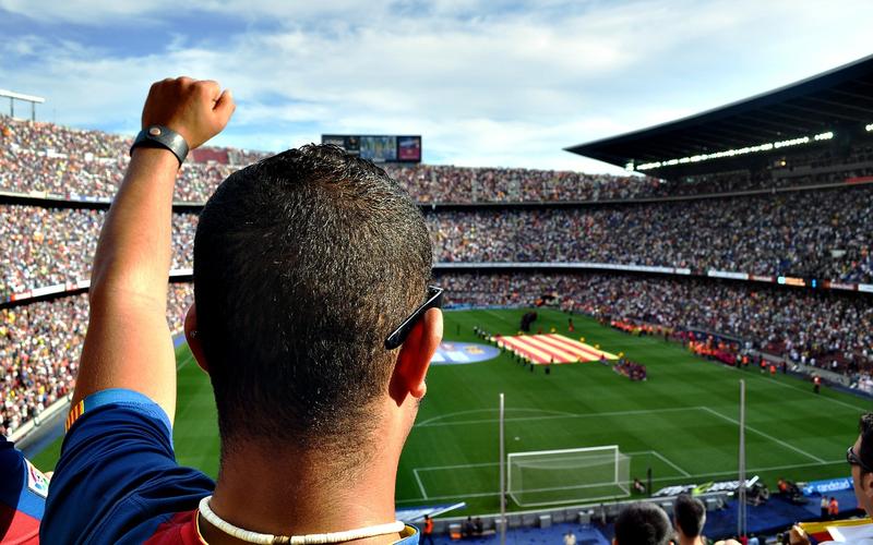 Fußball Fan