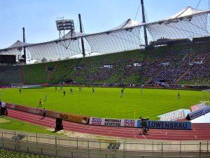 Beispiel das Olympiastadion in München 300x225