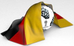 deutscher Fußball Flagge 300x186