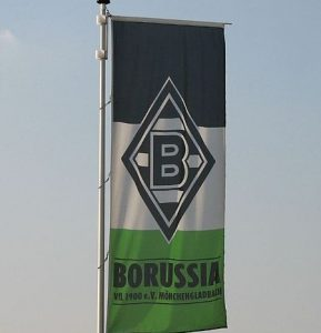 Borussia Mönchengladbach sport Flagge 289x300