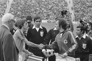 Finale wereldkampioenschap voetbal 1974 in Munchen 300x199